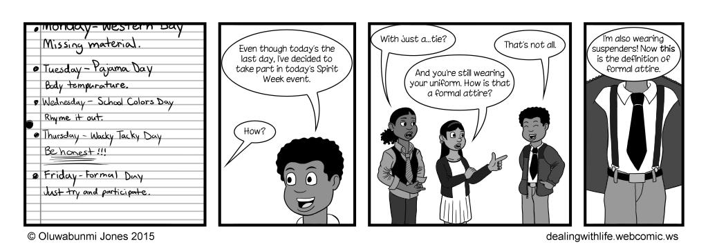 40 - Spirit Week - Day 5